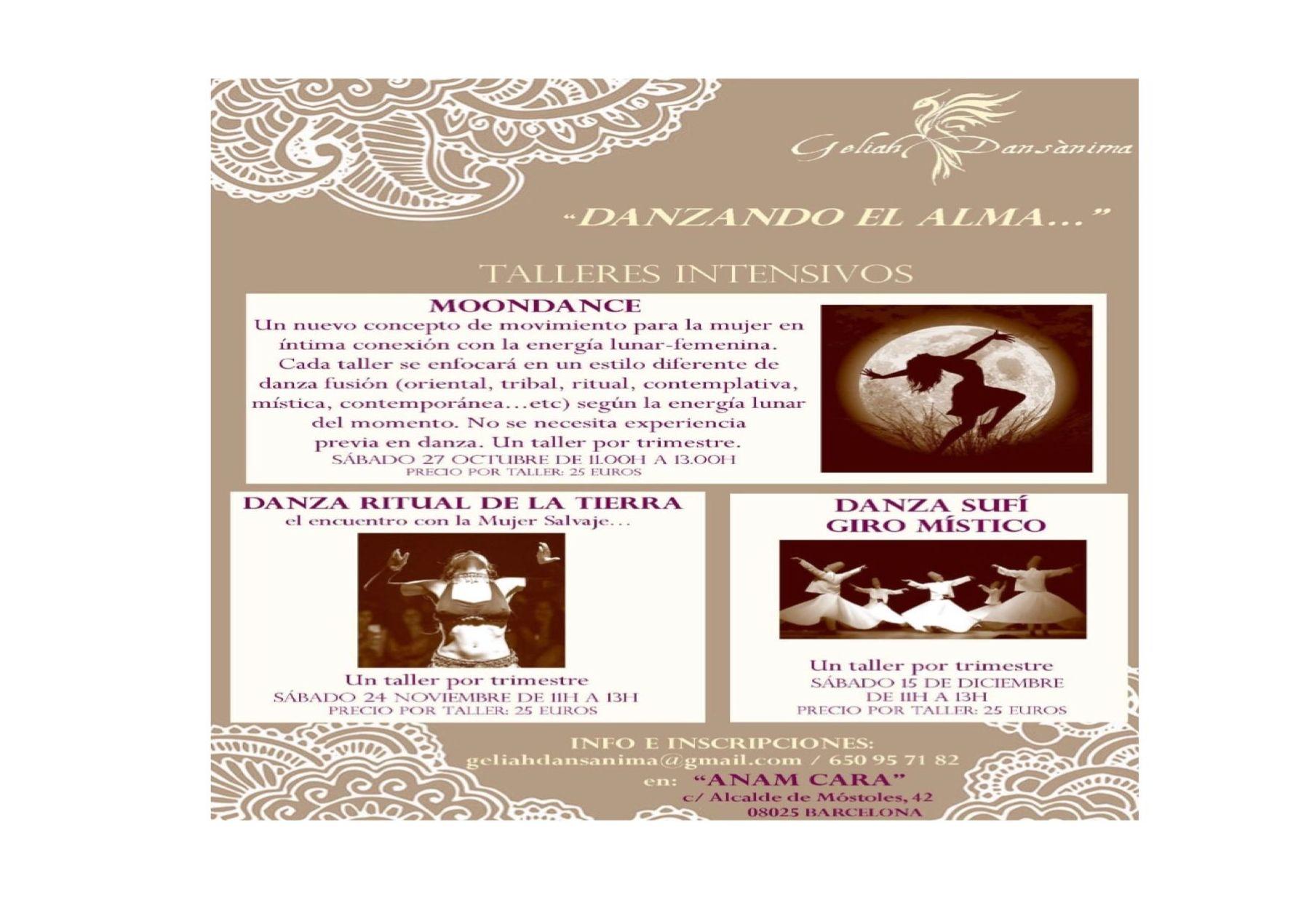 Moondance próximo Sábado 27 de octubre de 11h a 13h