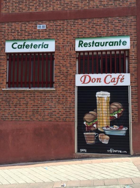 Cafetería Don Café en Carabanchel