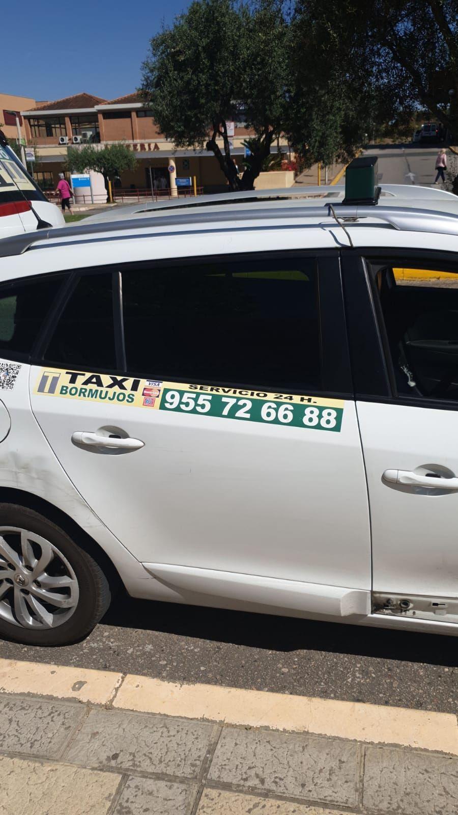 Viajes en taxi Bormujos