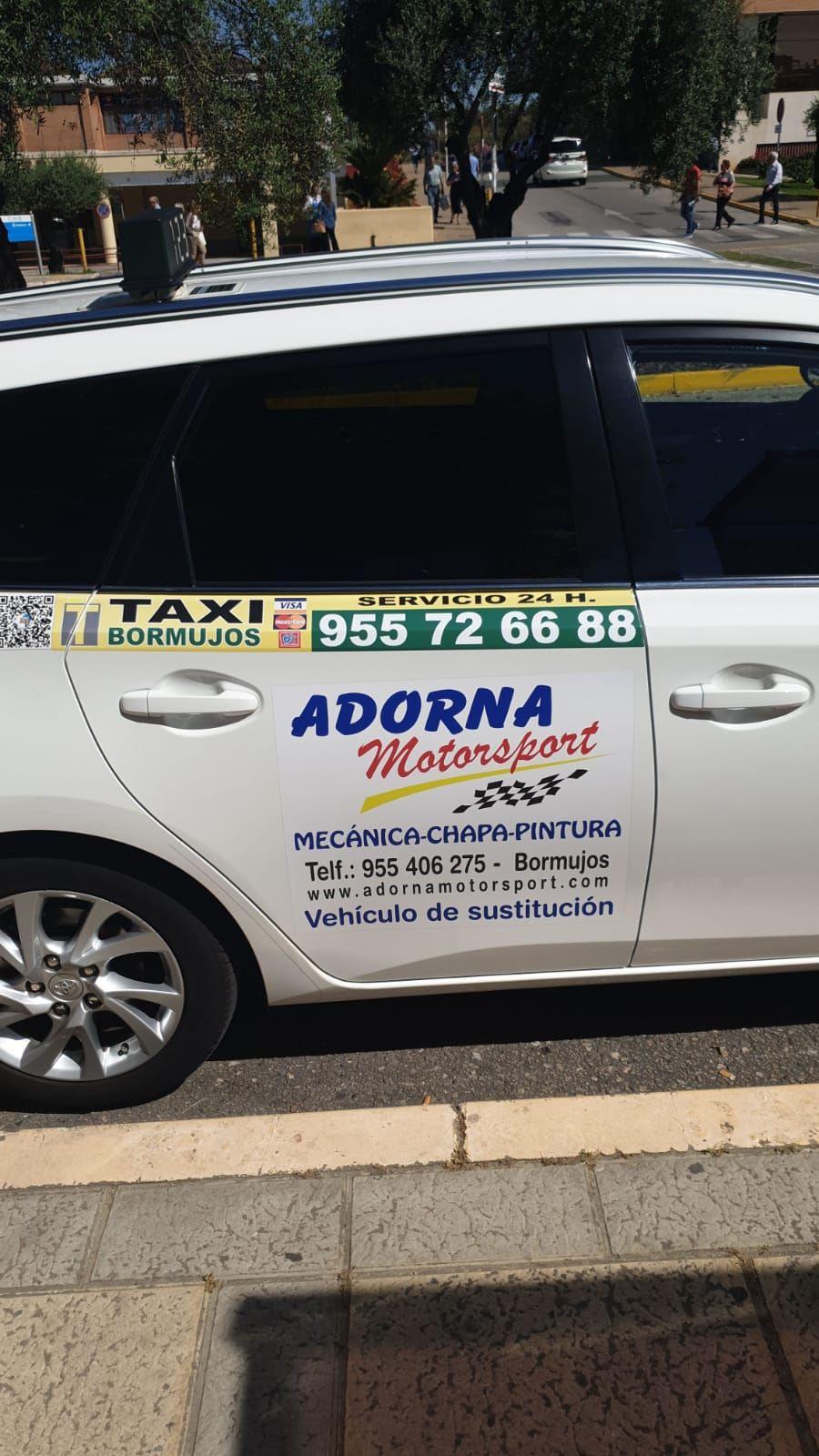 Taxi 24 horas Bormujos