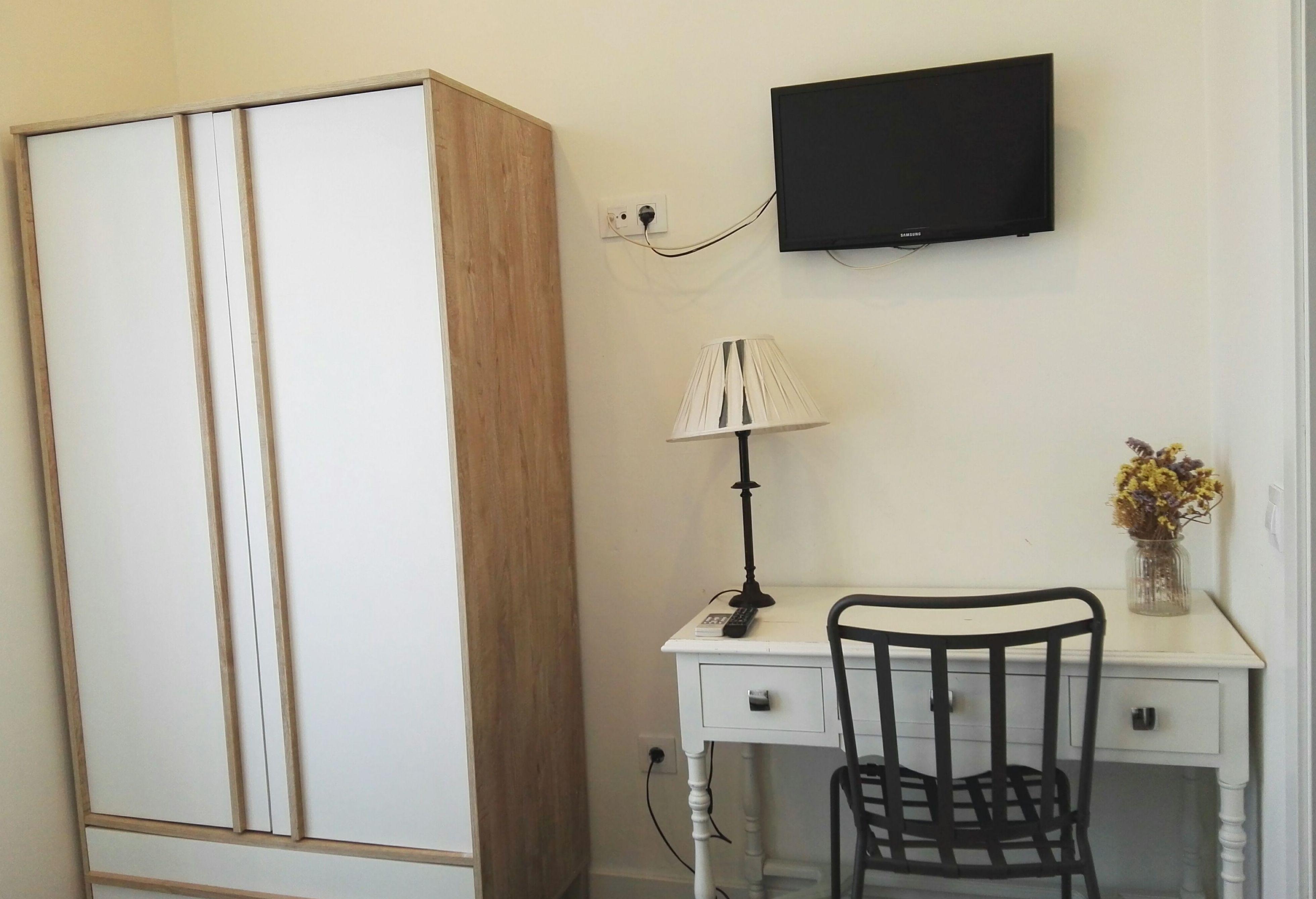 Vista habitación doble uso individual