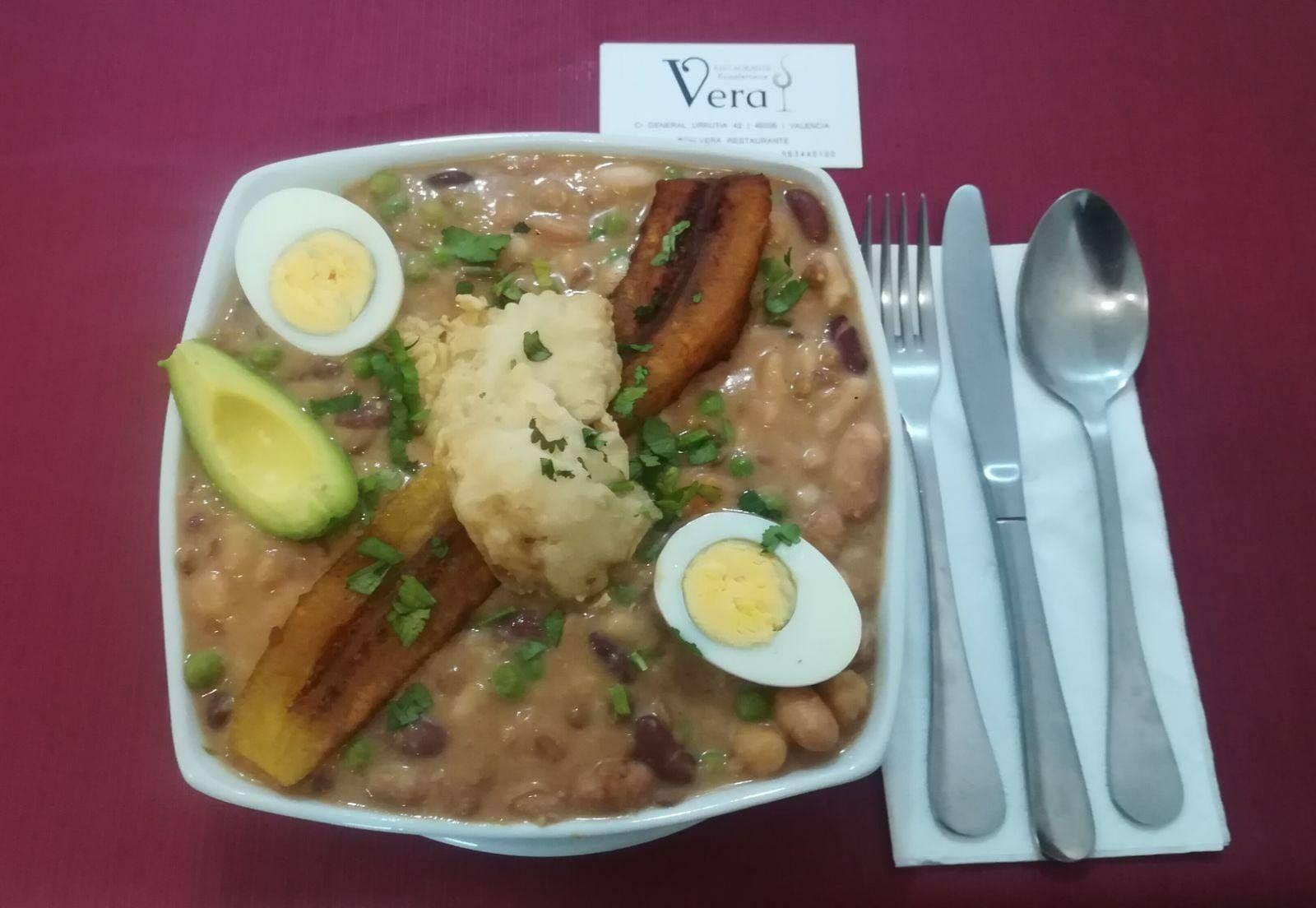 Gastronomía de Ecuador en Valencia