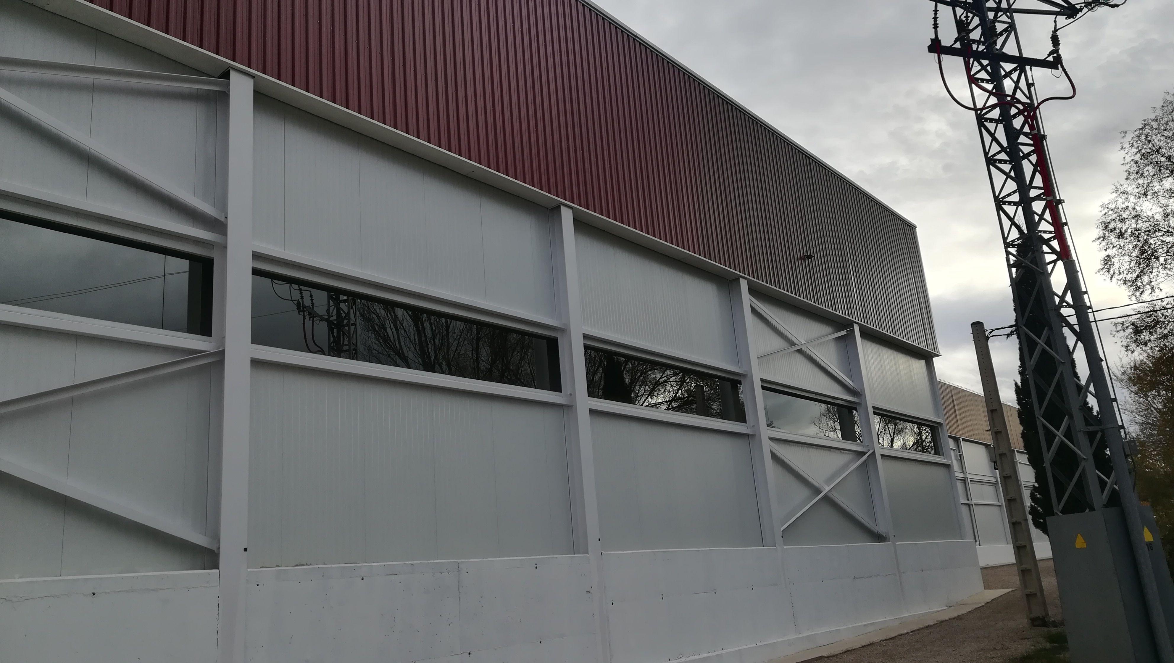 Foto 1 de Construcciones metálicas en Zaragoza   Gramin
