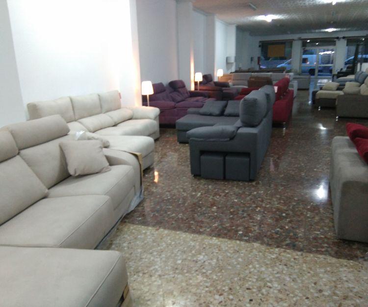 Tienda de sofás en Sagunto