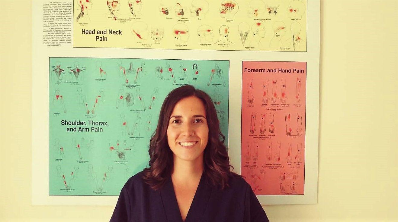 Nerea Cantero Gómez, Fisioterapeuta