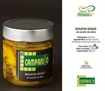 Setas en conservas: Nuestros productos de Productos Silvestres Julián Martín