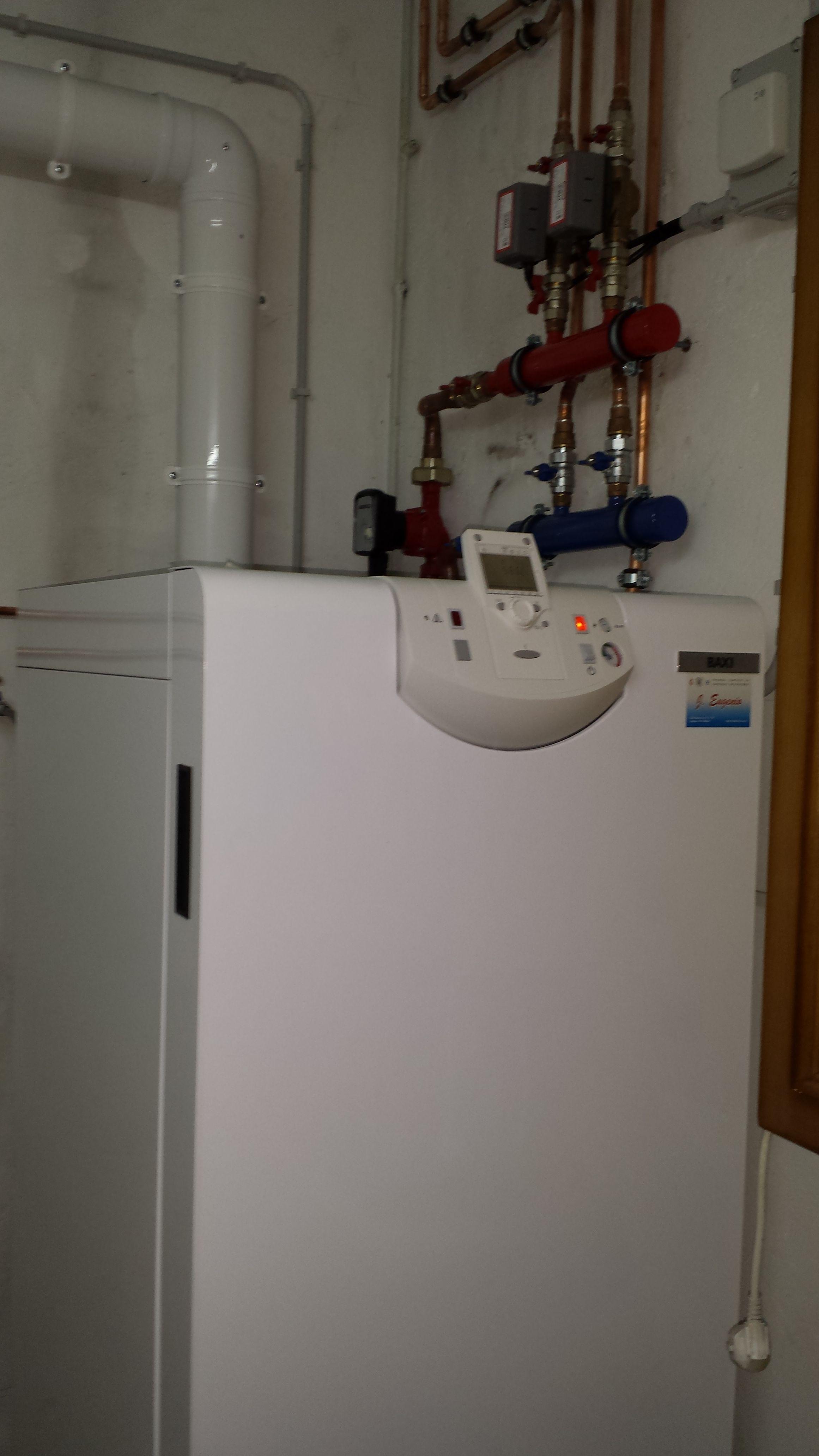 Calefacción: Servicios de Jesp Fontanería