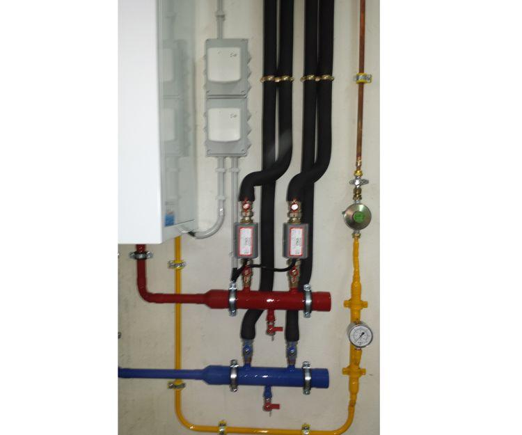 Instalación de conductos de agua