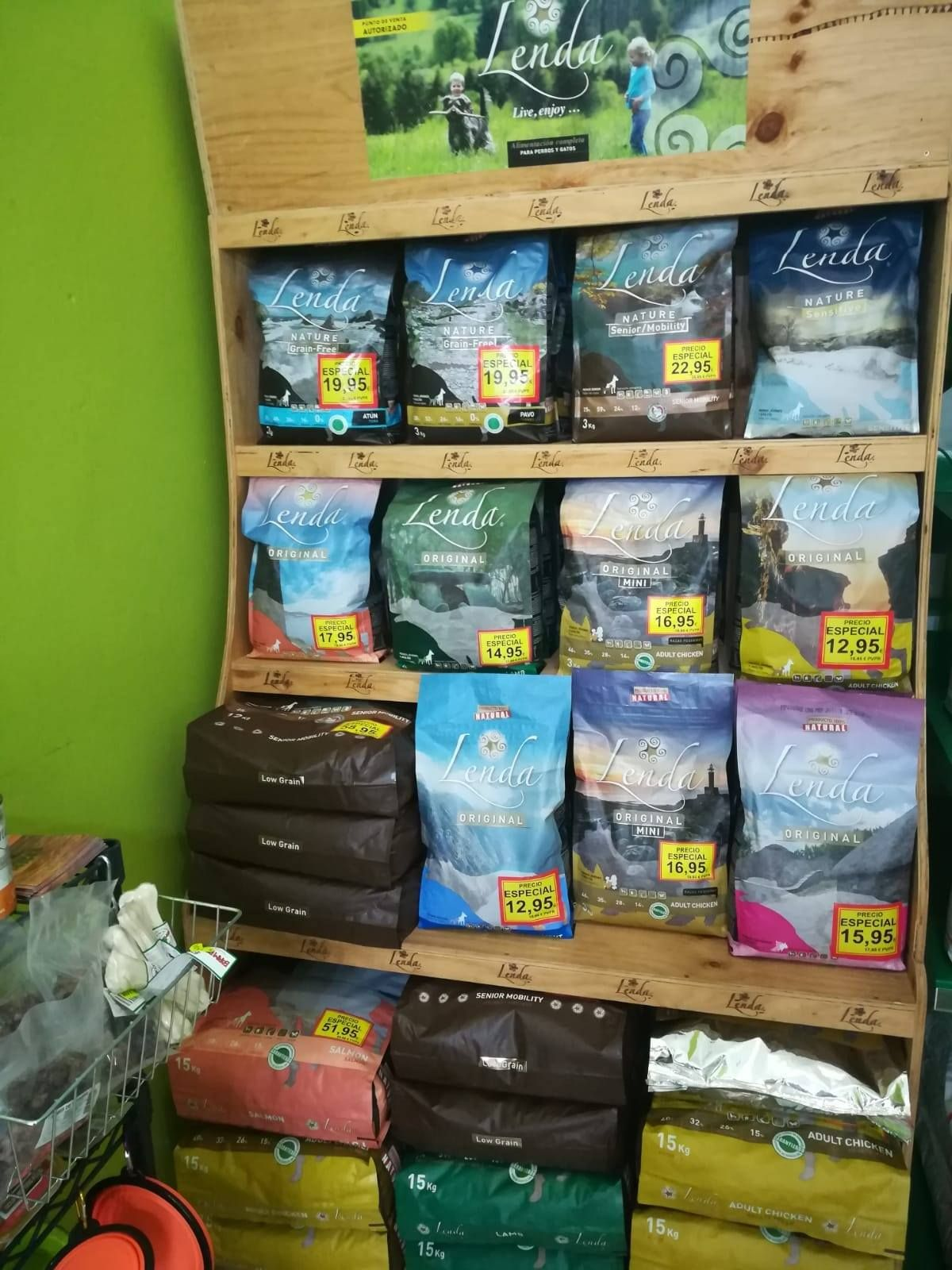 Venta de alimentos y accesorios para mascotas en Tenerife norte