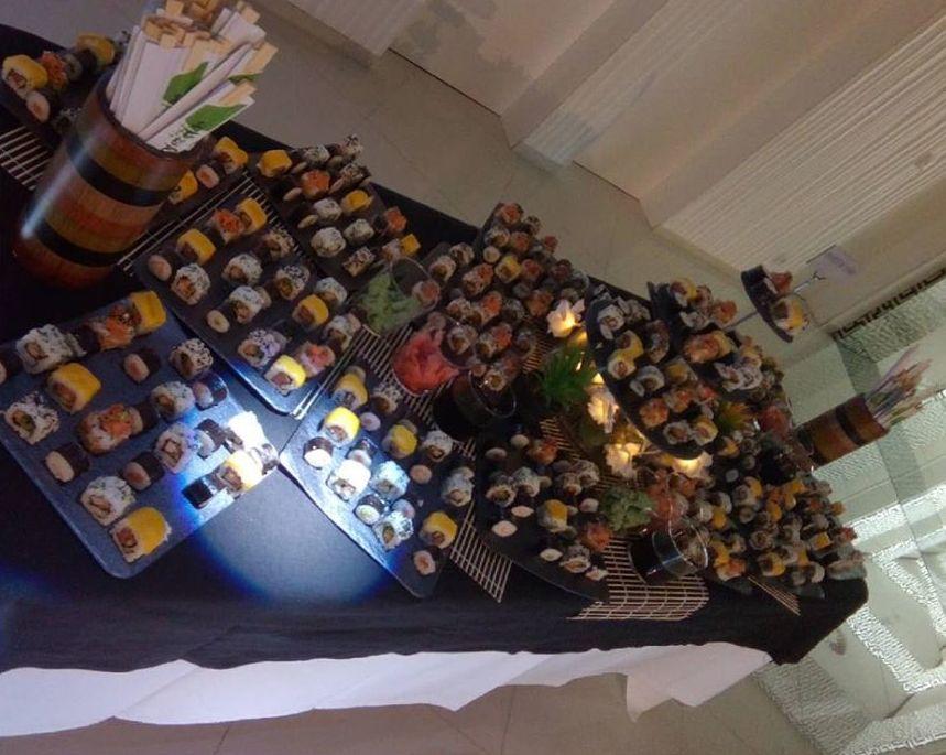 Buffet japonés