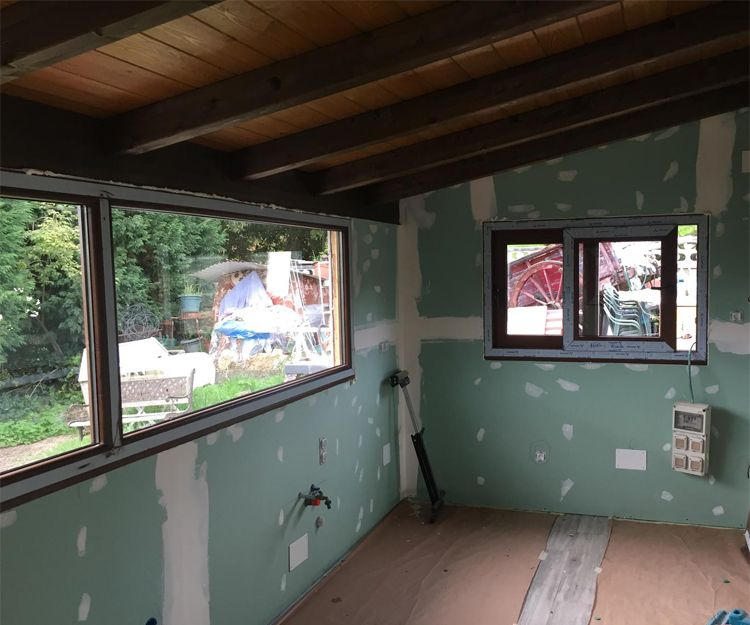 Instalación de ventanas en vivienda