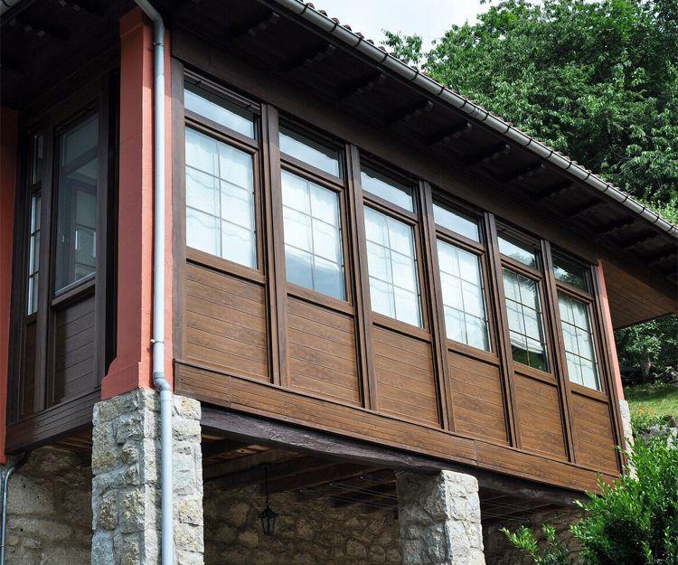 Instalación de ventanas en chalés