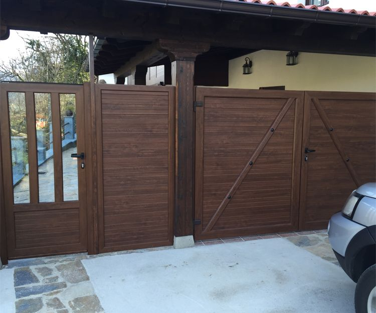 Instalación de puertas de garaje de aluminio