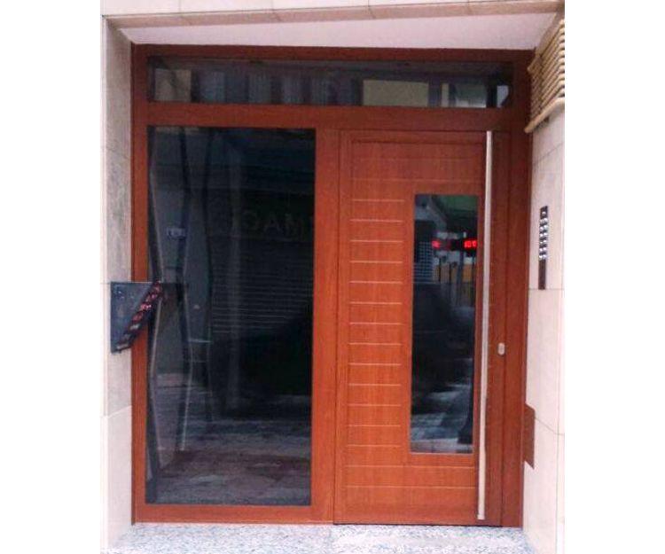 Puerta de PVC
