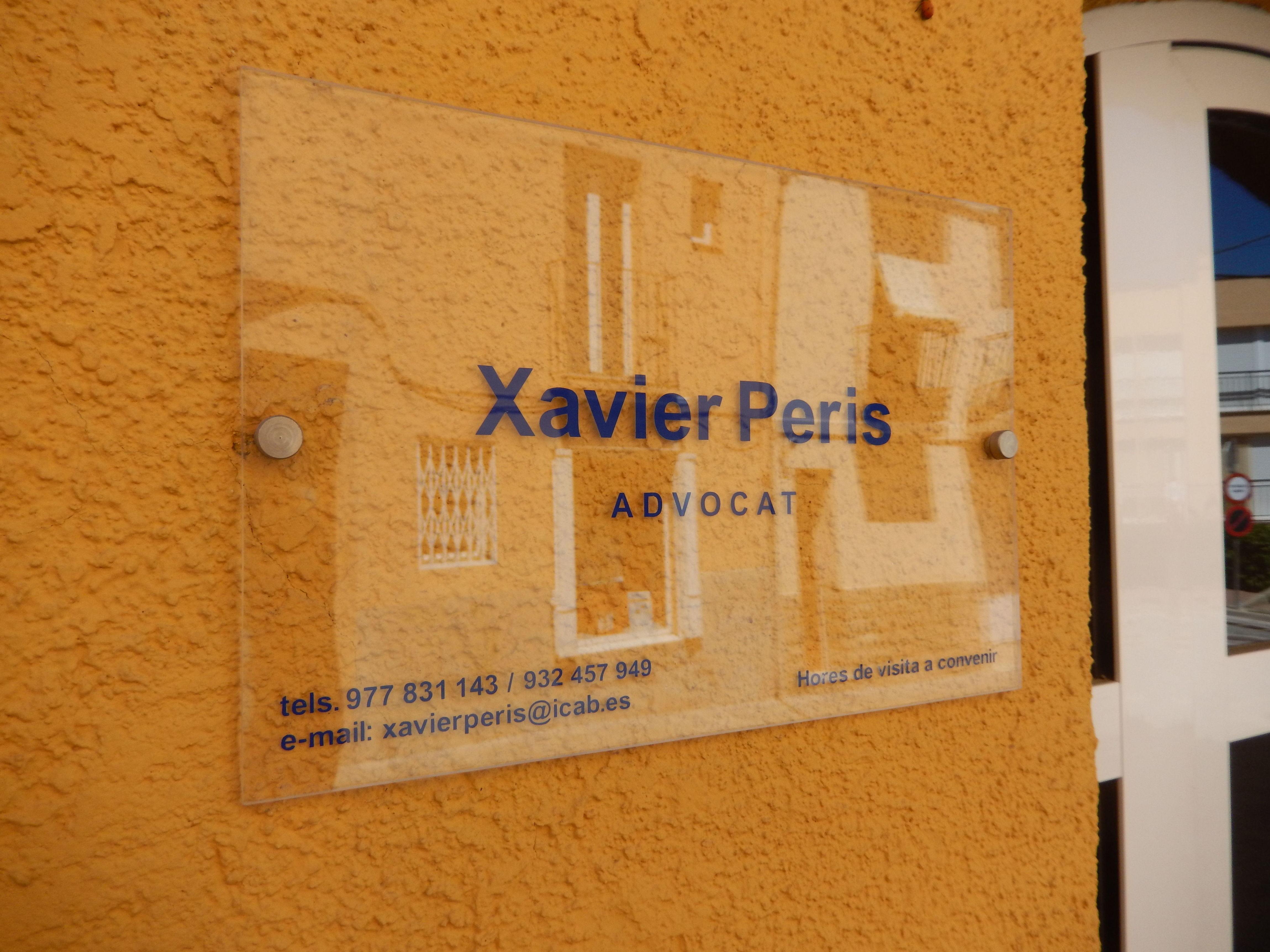 Foto 1 de Abogados en  | Xavier Peris Advocat