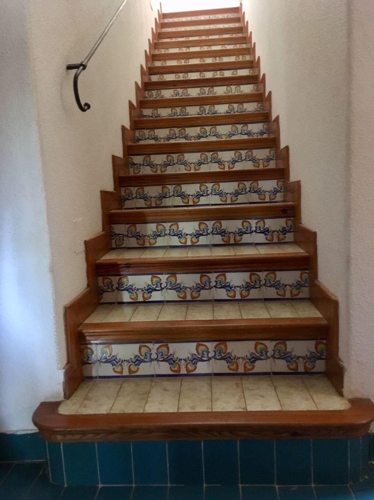 Escalera, Antes