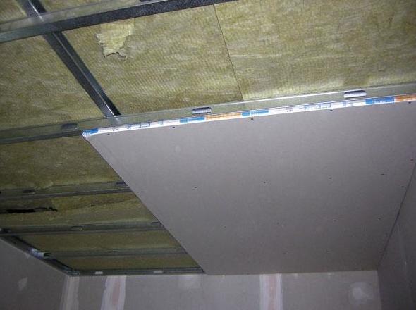 Instalación de techo de pladur