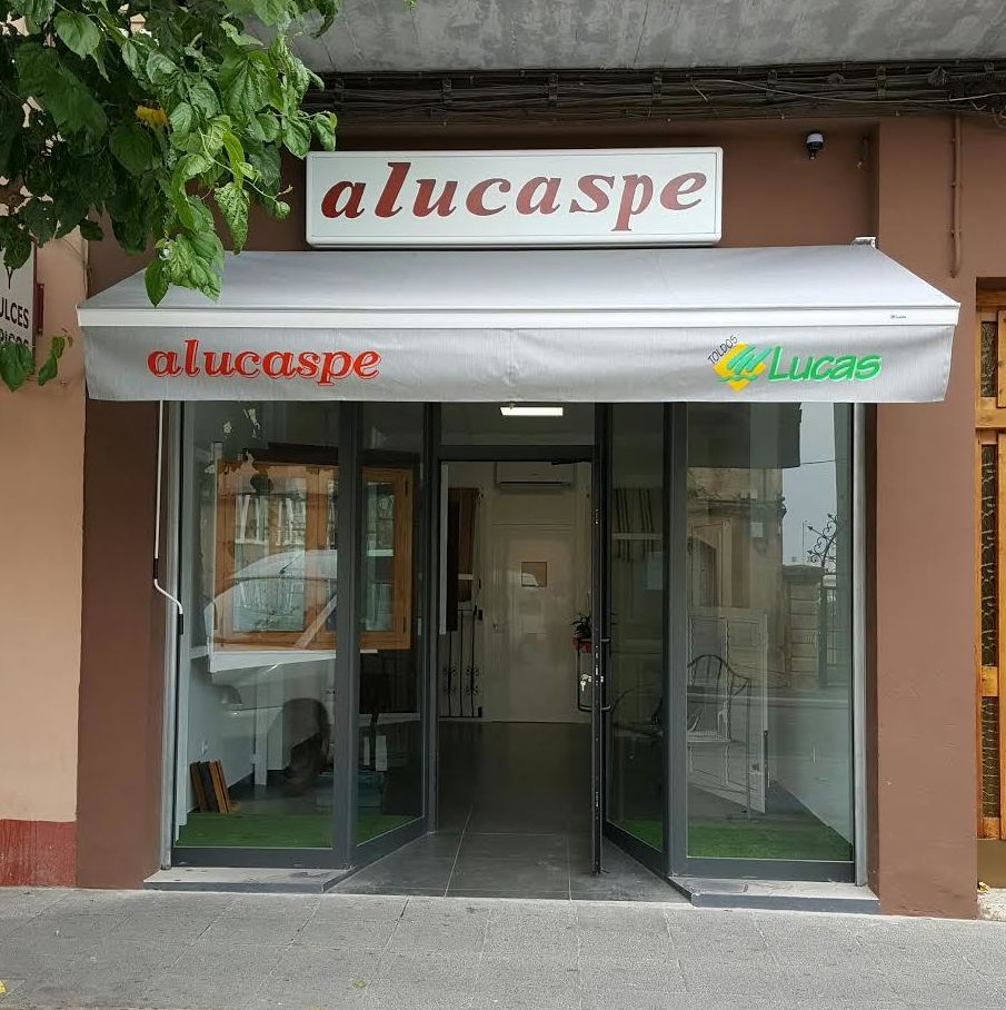 Tienda exposición en Caspe