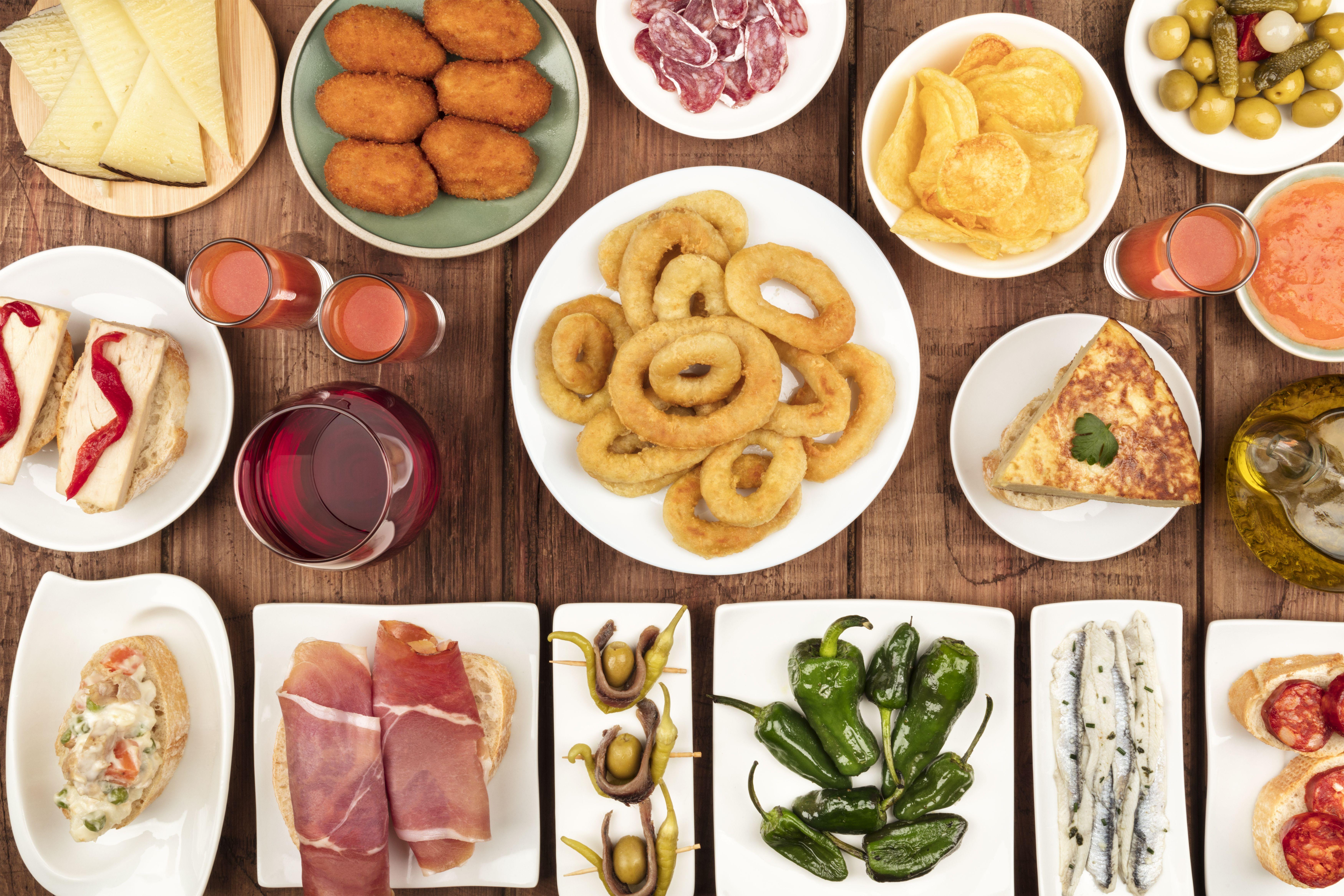 Pintxos y tapas: Servicios de Bar La Terraza