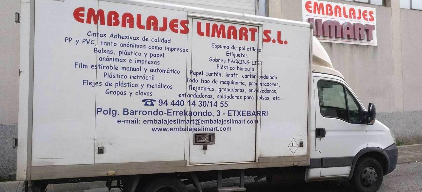 Transporte: Servicios de embalaje de Embalajes Limart