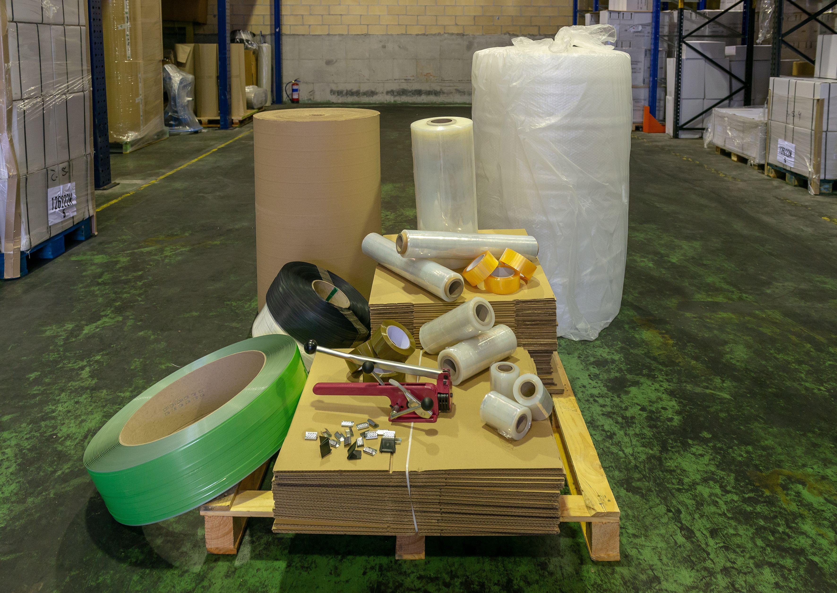 Productos de embalaje en Vizcaya