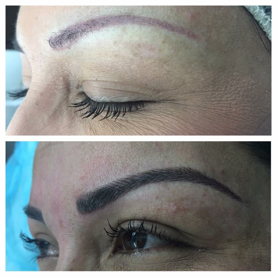 Micropigmentación de cejas pelo a pelo: Servicios de Centro de Estética y Peluquería Diana Barajas