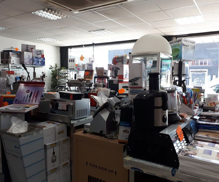 Tienda de recambios para hostelería en Palma de Mallorca