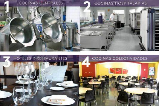 Cocinas profesionales: Servicios de Balearfresh, tienda de maquinaria