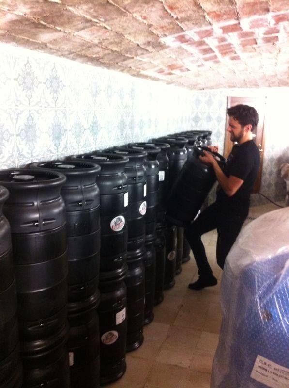 Cerveza en barril
