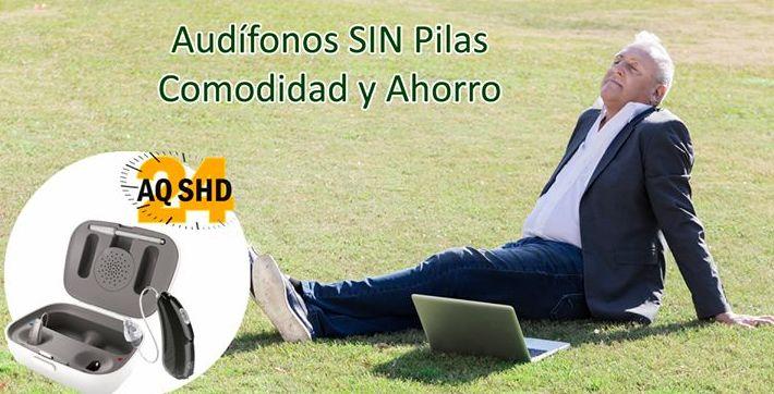 Nuevo audífono SIN PILAS AQ SHD