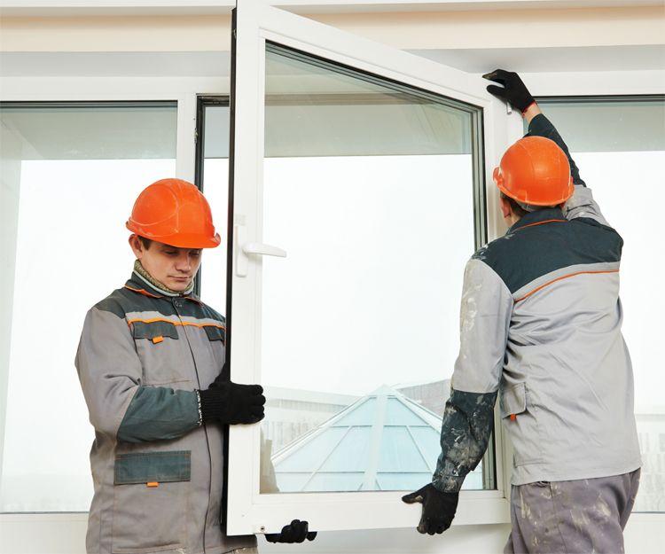 Trabajos de instalación de ventanas de aluminio en Jaén