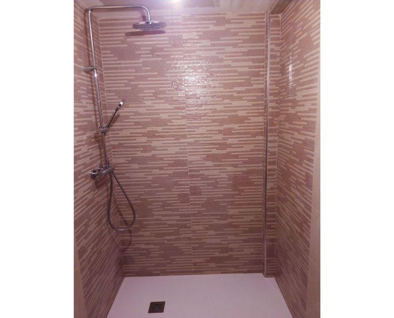 Reforma integral de baño, después