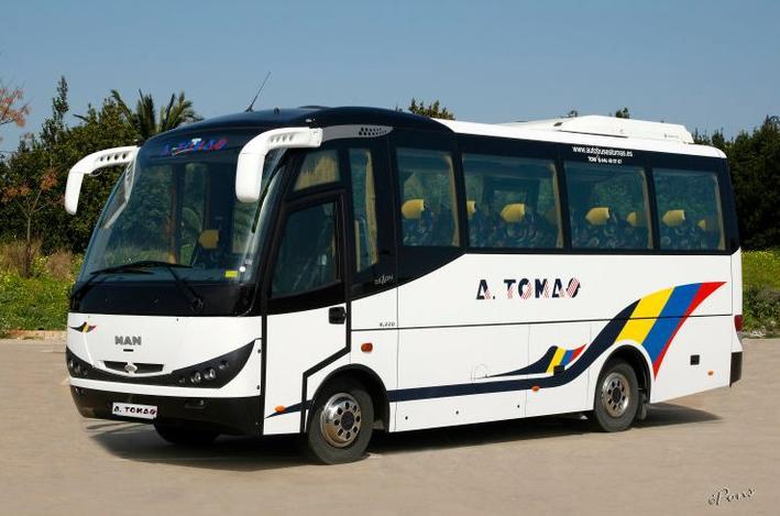 Foto 11 de Autocares en Castell de Castells | Autobuses A. Tomás
