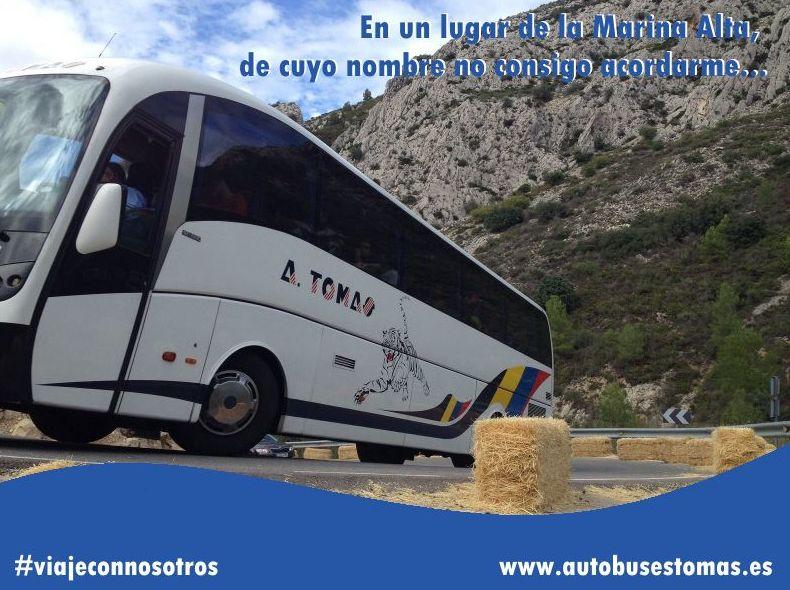Foto 3 de Autocares en Castell de Castells | Autobuses A. Tomás