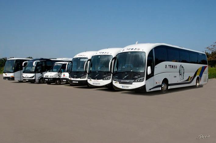 Foto 18 de Autocares en Castell de Castells | Autobuses A. Tomás