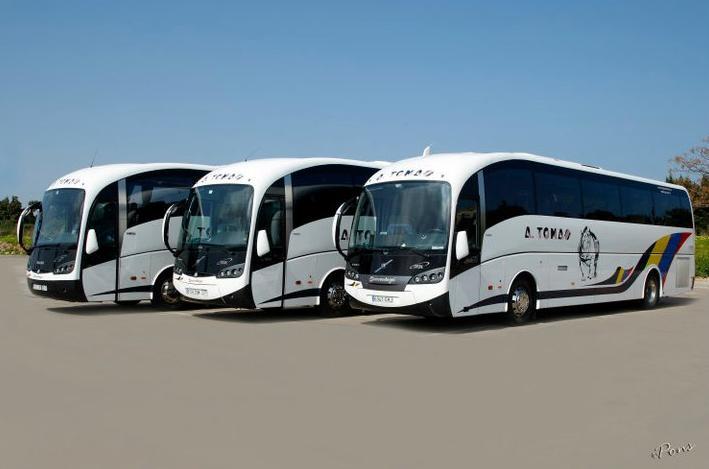 Foto 5 de Autocares en Castell de Castells | Autobuses A. Tomás