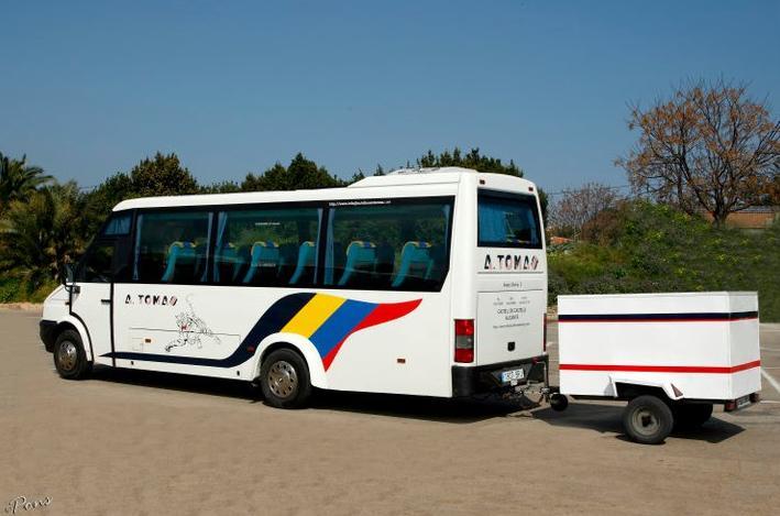 Foto 23 de Autocares en Castell de Castells | Autobuses A. Tomás
