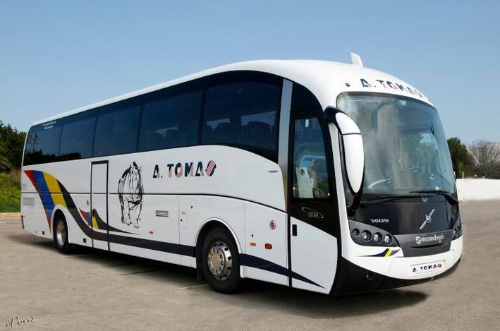 Foto 21 de Autocares en Castell de Castells | Autobuses A. Tomás