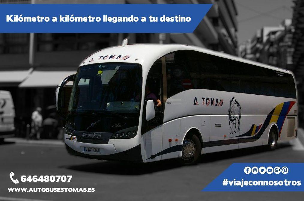 Foto 27 de Autocares en Castell de Castells | Autobuses A. Tomás