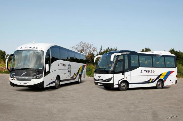 Foto 15 de Autocares en Castell de Castells | Autobuses A. Tomás