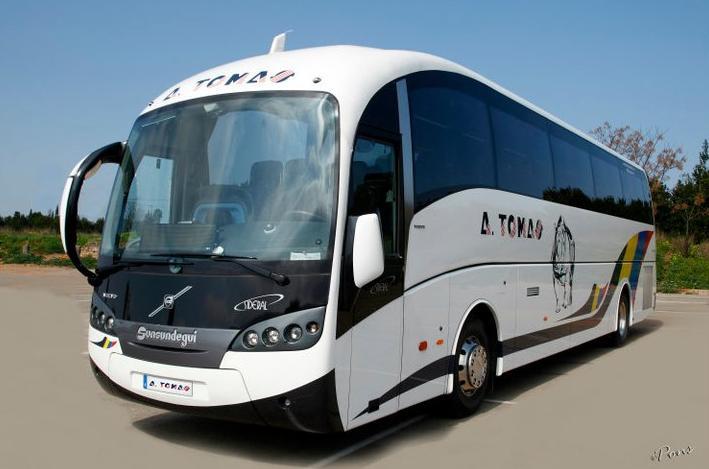 Foto 6 de Autocares en Castell de Castells | Autobuses A. Tomás