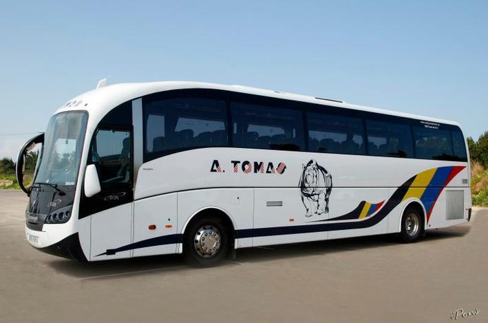 Foto 25 de Autocares en Castell de Castells | Autobuses A. Tomás