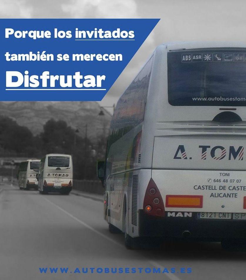 Foto 29 de Autocares en Castell de Castells | Autobuses A. Tomás