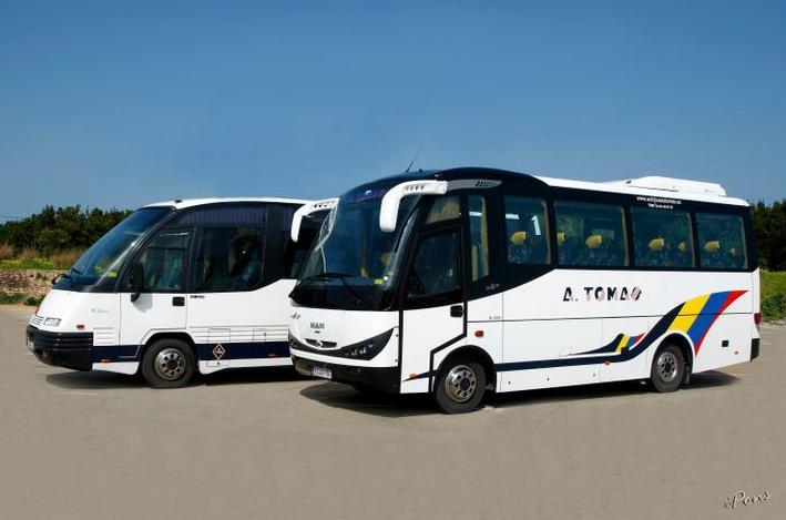 Foto 1 de Autocares en Castell de Castells | Autobuses A. Tomás