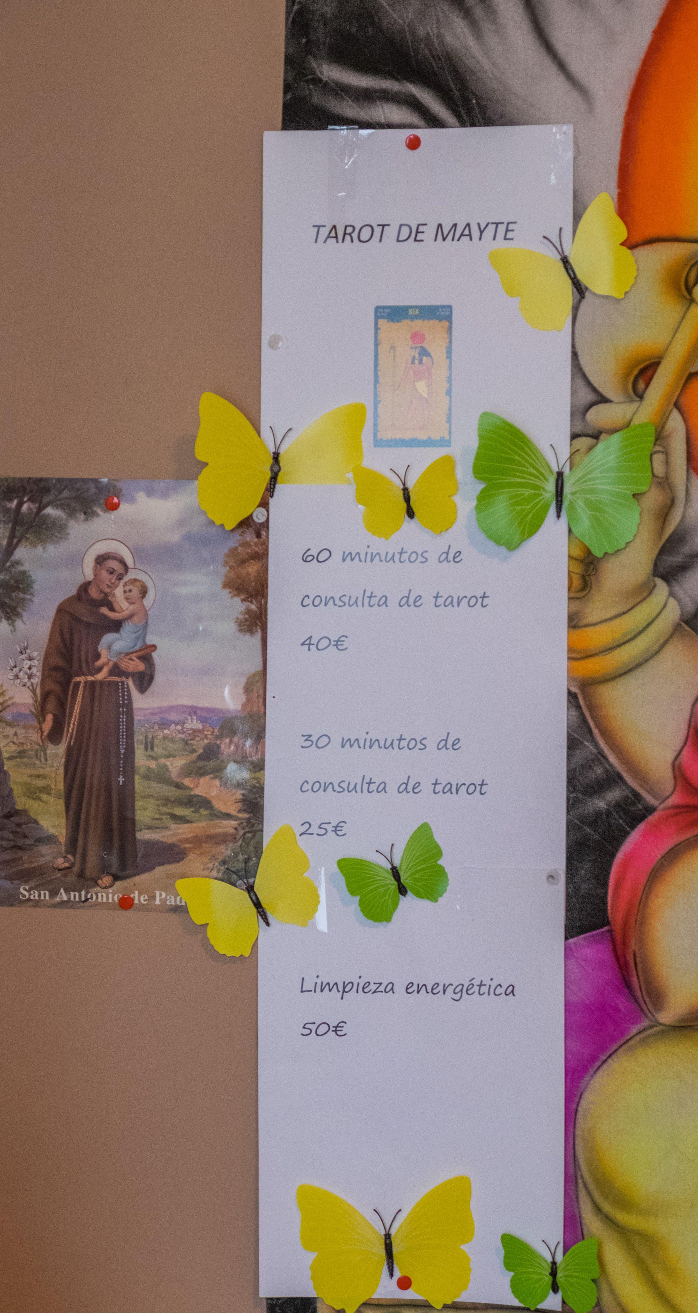 Mayte Tarot, experta en videncia y rituales