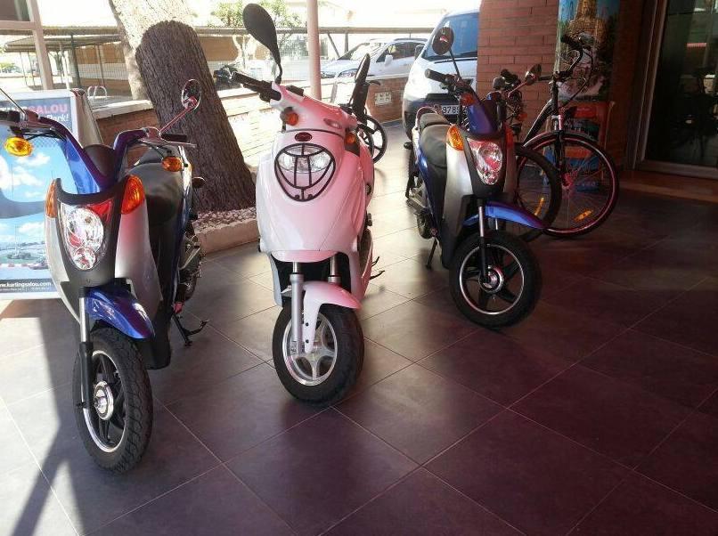 Alquiler por horas de motos en Cambrils