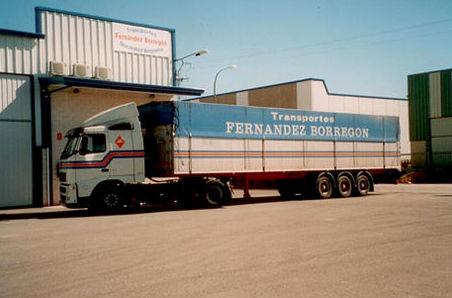 Transporte nacional de mercancías en Segovia