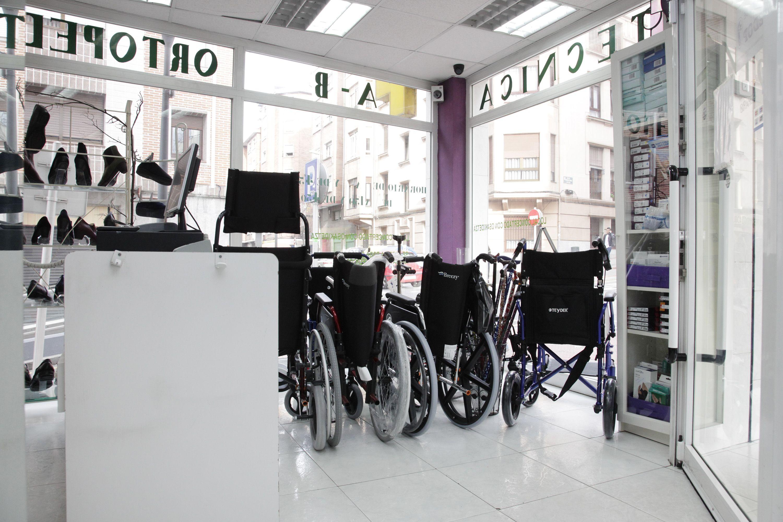 Venta de sillas de ruedas en Santurtzi