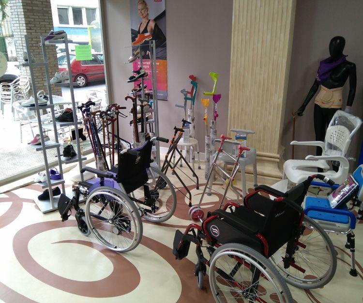 Sillas de ruedas en Vizcaya
