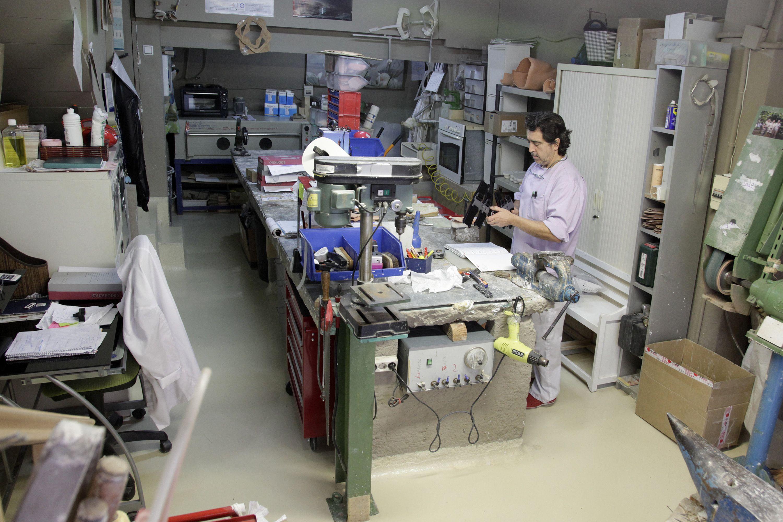 Fabricación de material ortopédico